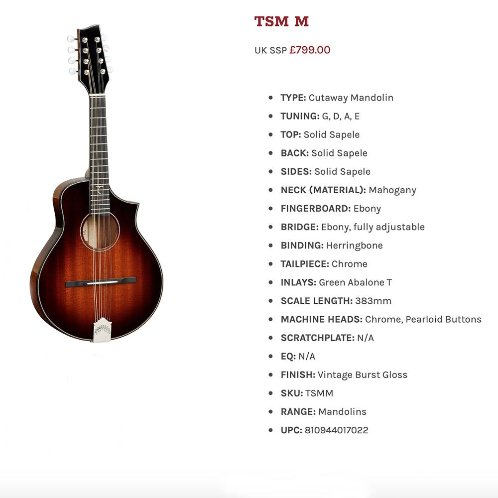 Tanglewood Archive – Tanglewood Guitars